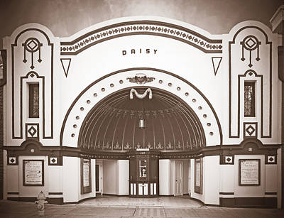 Photograph - Old Daisy Theatre Memphis by Liz Leyden