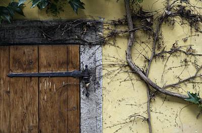 Old House Facade. Art Print by Fernando Barozza