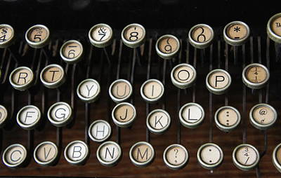 Photograph - Old Keys by Laurie Perry