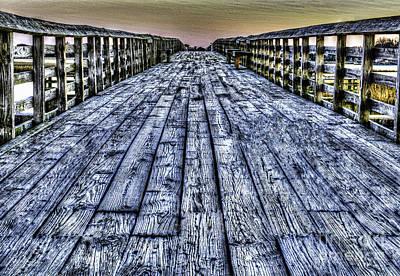 Digital Art - Old Pitt St Bridge by Dale Powell