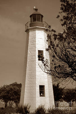 Graduation Hats - Old Point Comfort Lighthouse by Skip Willits