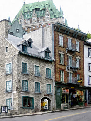 Photograph - Old Quebec City  by Ann Powell
