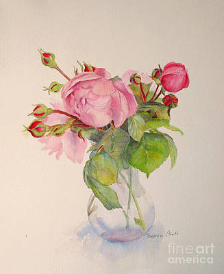 Painting - Old Roses by Beatrice Cloake