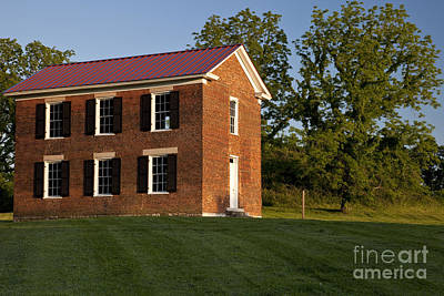 Franklin Tennessee Photograph - Old Schoolhouse by Brian Jannsen