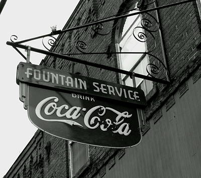 Old Sign Art Print