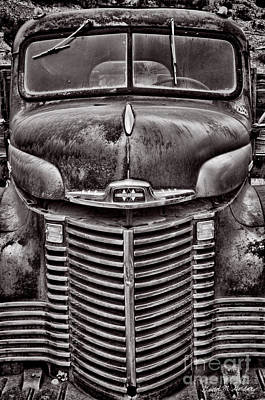 Photograph - Old Vehicle No. 4 by Dave Gordon