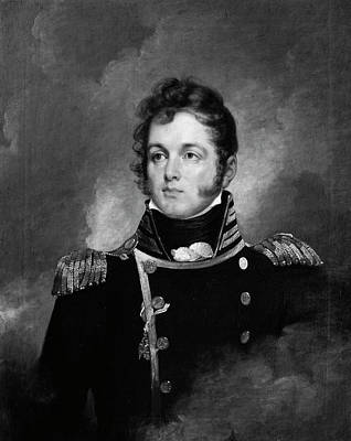 Wesley Jarvis Painting - Oliver Hazard Perry (1785-1819) by Granger