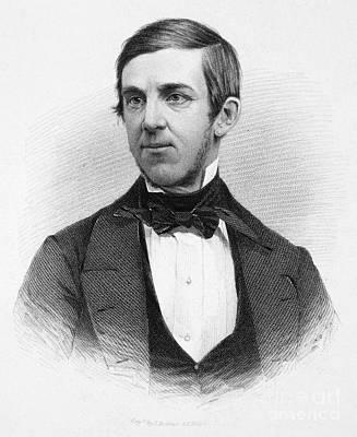 Oliver Wendell Holmes (1809-1894) Print by Granger