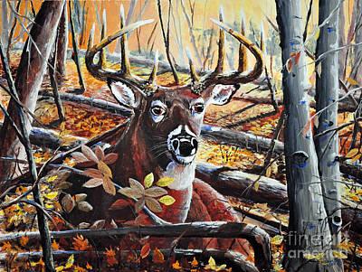 Painting - On Alert by Doug Heavlow