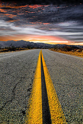 Sunset Landscape Wall Art - Photograph - On Our Way  by Ryan Weddle