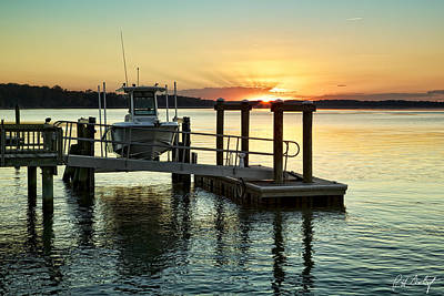 Beaufort County Photograph - On The Waterfront by Phill Doherty