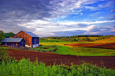 Rural Scenes Digital Art - Ontario Farm 2 by Steve Harrington