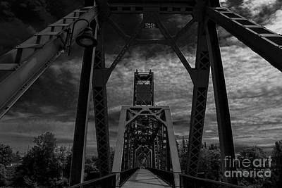Photograph - Oregon Bridges by Allen Sindlinger
