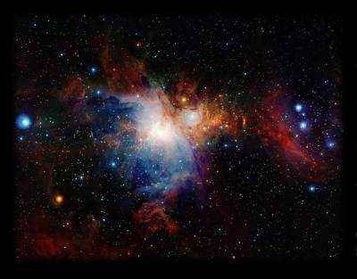 Orion Nebula Art Print by L Brown