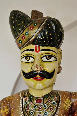 Raj Photograph - Ornate Decoration, Raj Palace Hotel by Adam Jones