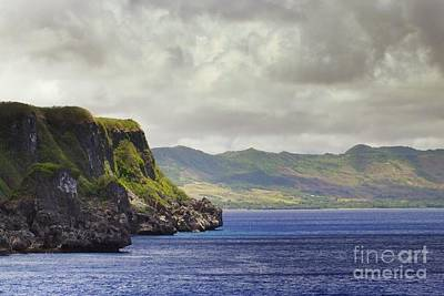 Clouds Photograph - Orote Peninsula Guam by Scott Cameron
