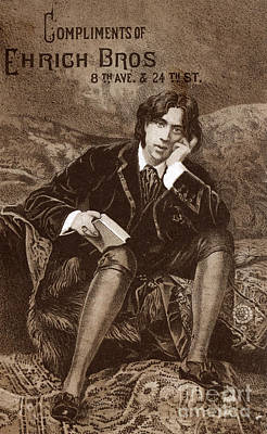 Photograph - Oscar Wilde by Granger