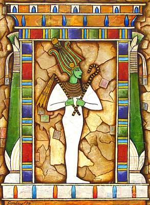 Painting - Osiris by Joseph Sonday