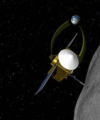 Mechanism Photograph - Osiris-rex Asteroid Mission by Nasa/goddard/university Of Arizona
