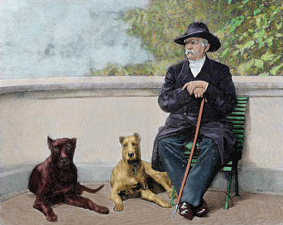 Great Dane Photograph - Otto-leopold Bismarck, Prince by Prisma Archivo