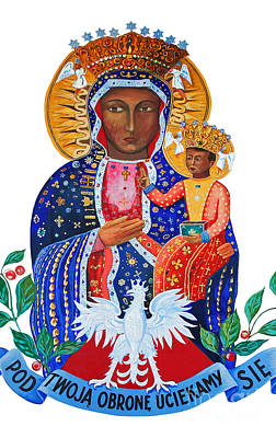 Photograph - Our Lady Of Czestochowa by Barbara McMahon