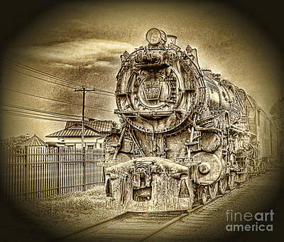 Out Of The Past Art Print by Arnie Goldstein