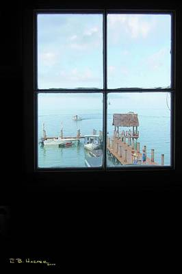 Photograph - Overlooking Pigeon Key Harbor by R B Harper
