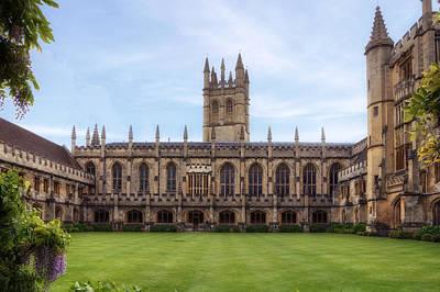 University Of Oxford Photograph - Oxford by Joana Kruse