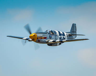 P-51 Mustang Art Print by Puget  Exposure