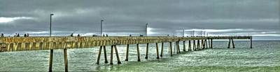 Photograph - Pacifica Municipal Fishing Pier 4 by SC Heffner