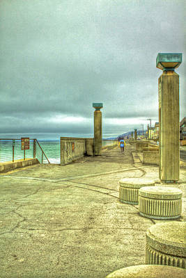 Photograph - Pacifica Municipal Fishing Pier by SC Heffner
