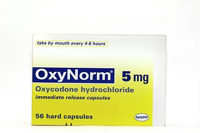 Pack Of Oxynorm Capsules Art Print by Dr P. Marazzi/science Photo Library