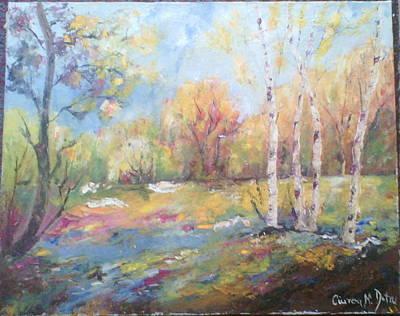 Decorativ Painting - Padure by Dumitru  Ciurea