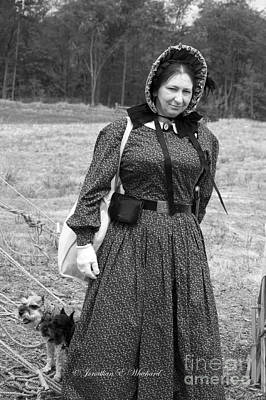 Photograph - Palas Athena Ladies Aid Society 150 Civil War Reenactment Of The Wilderness by Jonathan Whichard