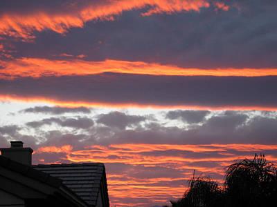 Photograph - Palm Desert Sunset by Phyllis Kaltenbach