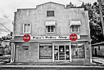 South Louisiana Photograph - Papa's Poboy Shop by Scott Pellegrin