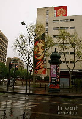 Photograph - Paris Graffiti by Louise Fahy