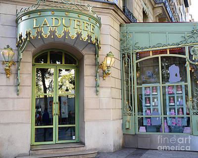 Paris Laduree Macaron French Bakery Patisserie Tea Shop - Champs Elysees - The Laduree Patisserie Original
