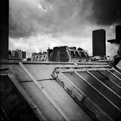 Paris Skyline Royalty-Free and Rights-Managed Images - Paris - Montparnasse by Vincent Leprince