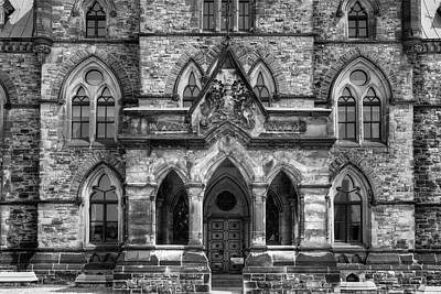 Parliament Buildings  Ottawa, Ontario Art Print