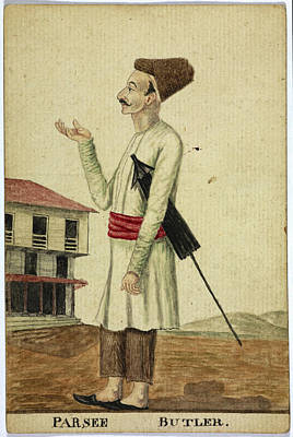Parsee Art Print by British Library