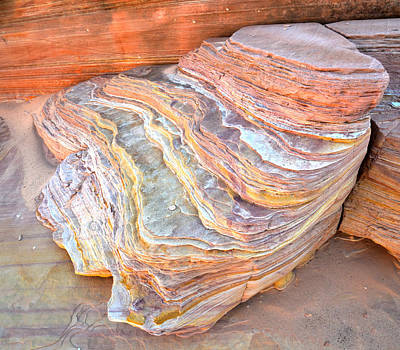 Travel Rights Managed Images - Pastel Canyon - Valley of Fire Royalty-Free Image by Ray Mathis