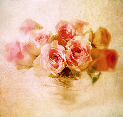 Paste Photograph - Pastel Rose by Jessica Jenney