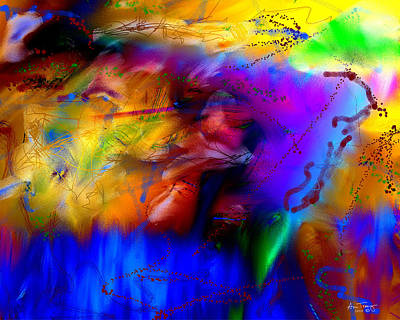 Digital Art - Pathological Enthusiasm by Ann Tracy