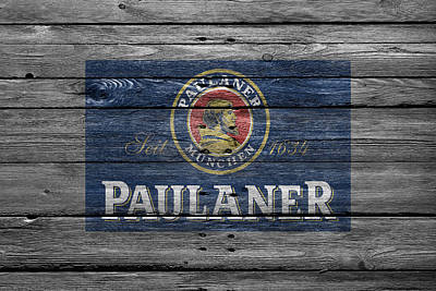 Handcrafted Photograph - Paulaner by Joe Hamilton