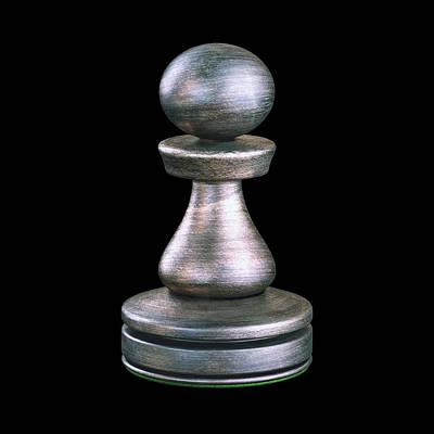 Pawn Chess Piece Art Print by Ktsdesign