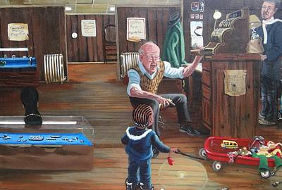 Painting - Pawn Shop by Susan Roberts