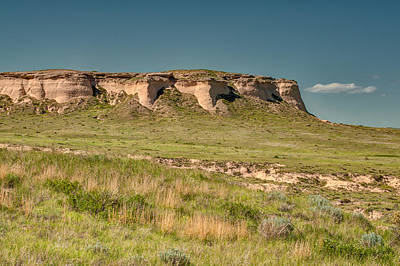 Pawnee Buttes Print by Rich Leighton