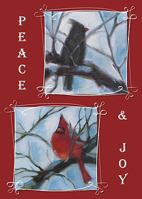 Painting - Peace And Joy by Erin Rickelton