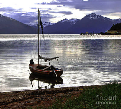Photograph - Peaceful Evening by Robert Bales